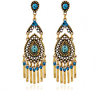 Women's Party Tassel Alloy/Resin Drop Earrings