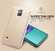 KALAIDENG Sun Series Super Thin View Leather Case for Note 4