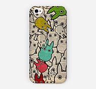 Little Rabbit Was Pattern PC phone Case Back Cover for iPhone 6 Plus Case