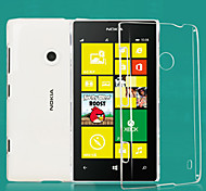 Transparent PC Back Cover Case for Nokia Lumia 520/525/526
