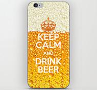 coroa padrão de cerveja de volta para o iPhone 5 / 5s