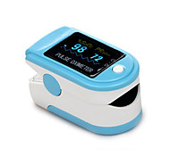 Finger Pulse Oximeter with Carry Case and Neck/Wrist Cord