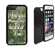 Wild & Free Design 2 in 1 Hybrid Armor Full-Body Dual Layer Shock-Protector Slim Case for iPhone 6