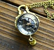 Black Fisheye Pocket Watch
