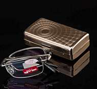 Mincl Rectangle Full-Rim Reading Glasses