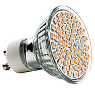 3W GU10 LED Spotlight MR16 60 SMD 3528 240 lm Warm White AC 220-240 V