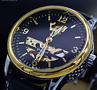 Men's Classic Mechanical Relogios Automatic Self-Winding Skeleton Sports Watches Men Luxury Brand Clock