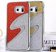 s Form Design hart zurück Fall für Samsung-Galaxie s6 Rand (verschiedene Farben)