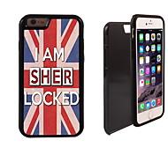 io sono Sher disegno bloccato 2 in 1 ibrido armatura caso sottile di tutto il corpo a doppio strato di shock-protezione per il iphone 6
