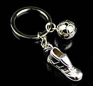 zapatillas de gimnasia de fútbol aleación de llavero