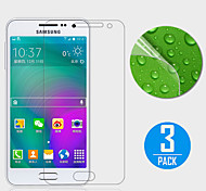 (3 Pcs) High Definition Screen Protector for Samsung Galaxy A3