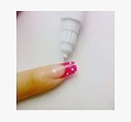 escova de unha dupla ponto flor puxar caneta stylus caixa de 24 garrafas (cor aleatória)