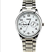 Men's casual waterproof quartz watch