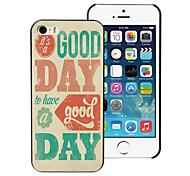 il est un bon étui rigide en aluminium de conception de jour pour iphone 5 / 5s