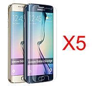 GYM 5pcs HD Screen Film for Samsung Galaxy S6 Edge G9250