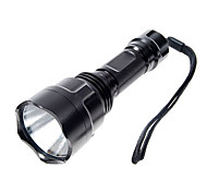 LED Flashlights/Torch / Handheld Flashlights/Torch LED 1000 Lumens 5 Mode Cree XP-E R2 18650 Camping/Hiking/Caving Aluminum alloy