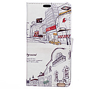 City Pattern Full Body Case for Sony Xperia C4