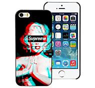 o caso duro de alumínio projeto Monroe para iphone 5c