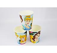 filme de Disney princesa copos fontes do partido de papel 50pcs