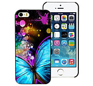Beautiful Butterfly Design Aluminum Hard Case for iPhone 5C