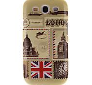 london Umschläge Muster TPU und IMD weiche Tasche für Samsung-Galaxie S3