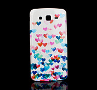 hart patroon deksel fo Samsung Galaxy Grand 2 g7106 case