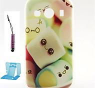 Para Funda Samsung Galaxy Diseños Funda Cubierta Trasera Funda Dibujos TPU Samsung Ace 4