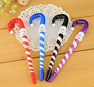 Cute Santa Claus Pattern BallPoint Pen (Random Color)