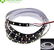 SENCART 1.0 M 90 3528 SMD Bianco Accorciabile/Oscurabile/Collagabile/Adatto per veicoli/Auto-adesivo 5 W Strisce luminose LED flessibili