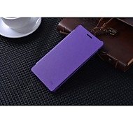 For Huawei Case / P8 Flip Case Full Body Case Solid Color Hard PU Leather Huawei Huawei P8