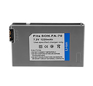 1220mAh Camera Battery Pack for NP-FA70