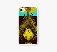 My Neighbor Totoro Pattern PC Phone Case Back Cover for iPhone4/4S Case