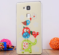 The Bird Design TPU Soft Case Cover for Huawei Mate 7
