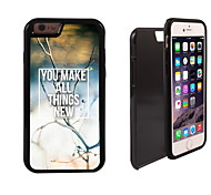 You Make All Things New Design 2 in 1 Hybrid Armor Full-Body Dual Layer Shock-Protector Slim Case for iPhone6