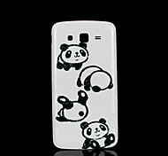 panda patroon deksel fo Samsung Galaxy Grand 2 g7106 case