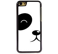 Lovely Panda Design Aluminum Hard Case for iPhone 5C