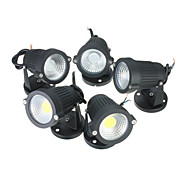 7 W COB 600-700 LM 2800-6500 K Warm White/Cool White/Red/Blue/Green Rotatable Flood Lights AC 85-265/DC 12/AC 12 V