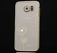 High-grade Diamond Plating Dandelion Phone Case for Samsung Galaxy S6 (Assorted Colors)