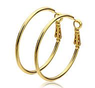 Pendients de aro Oro Dorado Joyas 2 piezas