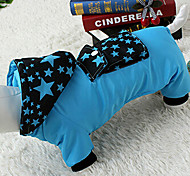 Dog Hoodie / Shirt / T-Shirt Blue / Pink Spring/Fall Stars Cosplay