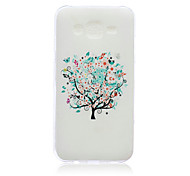 Painted TPU Phone Case for Samsung J5