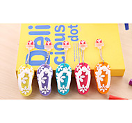 YOUWO Colorful Cartoon USB Rose Small Slippers Red Blue Yellow Orange Green Purple Foot Slippers USB 8GB SP0017801