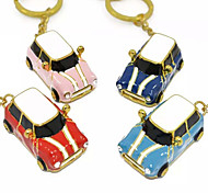 YOUWO Metal Keychain With Cartoon Car Styling 32GB USB Pink Light Blue Red Blue SP0017801