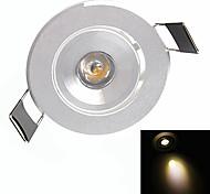 1W LED a incasso 1 LED ad alta intesità 90-110lm lm Bianco caldo / Bianco Decorativo AC 85-265 V 1 pezzo