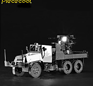 M35 Air Defense Truck 3D Solid Metal Model Cars Assembled Toys Puzzle Puzzle Adult Children