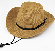Men's Outdoor Travel Foldable Large Brimmed Cowboy Hat