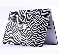 Black Fashion Leopard Crystal Leather Crystal Full Body Case for Macbook Air 11 inch/13 inch