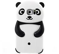 3d Panda Silizium weiche Tasche für Samsung Galaxy s6 (verschiedene Farben)