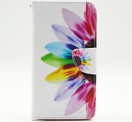 Sonnenblumenmuster im Inneren bemalt cards Fall für Samsung Galaxy Note 4