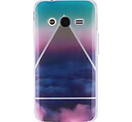 Para Funda Samsung Galaxy Diseños Funda Cubierta Trasera Funda Paisaje TPU Samsung Ace 4